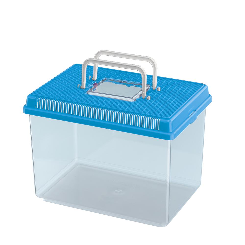 Geo large acquario vasca per pesci in plastica ferplast for Vasca per pesci
